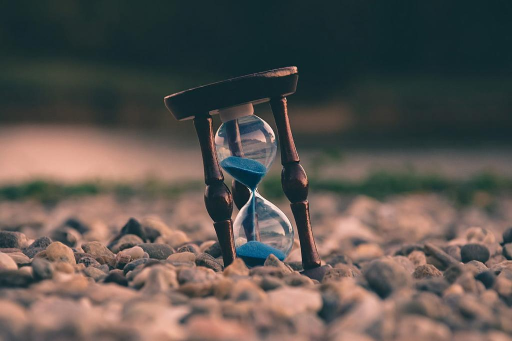 Timetracking hourglass